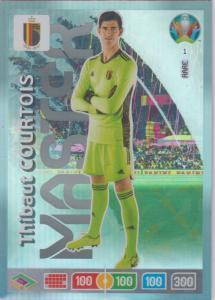 Adrenalyn Euro 2020 - 001 - Thibaut Courtois (Belgium) - Master