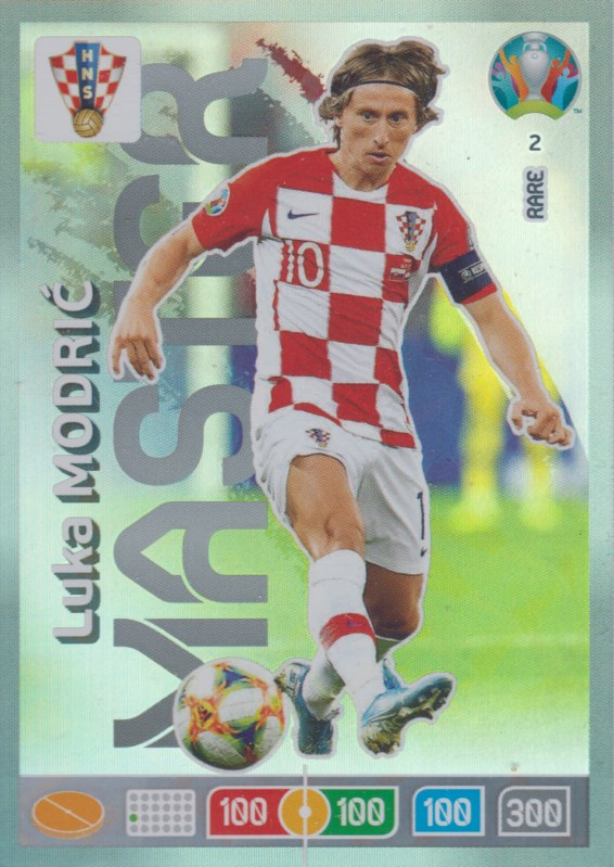 Adrenalyn Euro 2020 - 002 - Luka Modrić / Luka Modric (Croatia) - Master