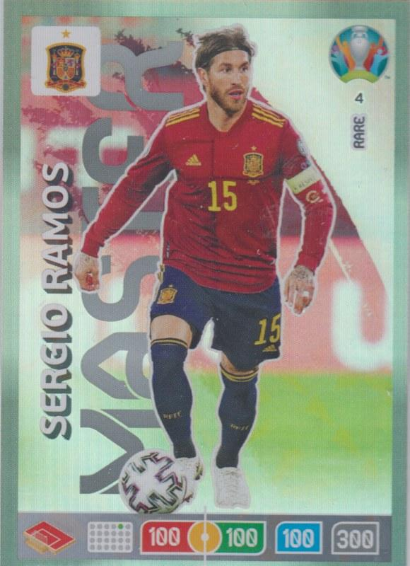 Adrenalyn Euro 2020 - 004 - Sergio Ramos (Spain) - Master
