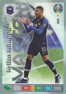 Adrenalyn Euro 2020 - 006 - Kylian Mbappé / Kylian Mbappe (France) - Master