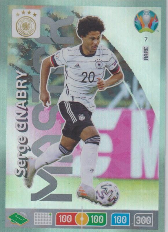 Adrenalyn Euro 2020 - 007 - Serge Gnabry (Germany) - Master