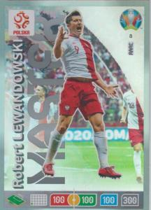 Adrenalyn Euro 2020 - 008 - Robert Lewandowski (Poland) - Master
