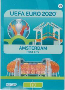 Adrenalyn Euro 2020 - 010 - Amsterdam (Netherlands) - Host City