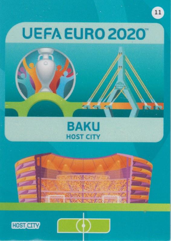 Adrenalyn Euro 2020 - 011 - Baku (Azerbaijab) - Host City