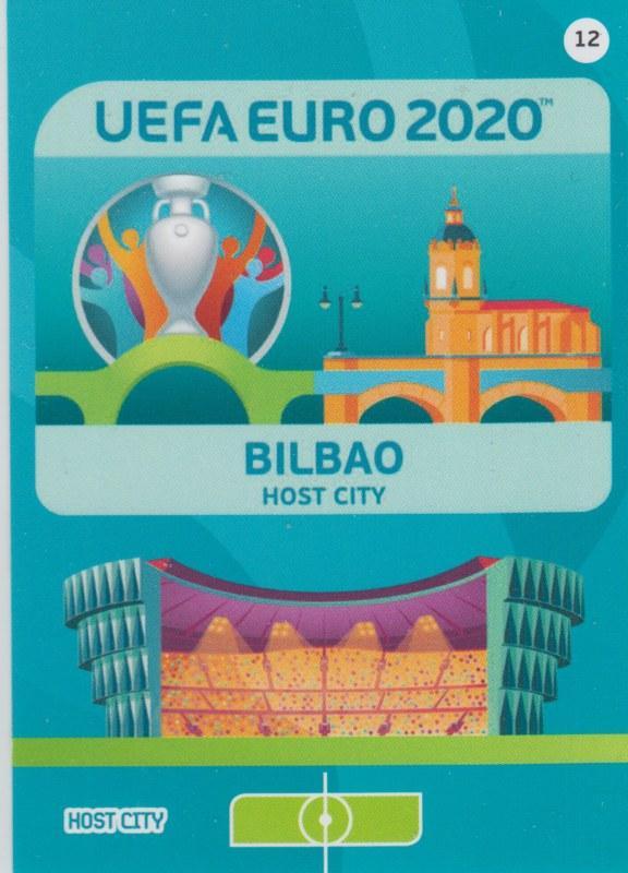 Adrenalyn Euro 2020 - 012 - Bilbao (Spain) - Host City