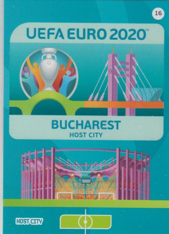 Adrenalyn Euro 2020 - 016 - Bucharest (Romania) - Host City