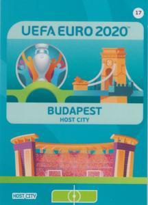 Adrenalyn Euro 2020 - 017 - Budapest (Hungary) - Host City