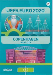 Adrenalyn Euro 2020 - 018 - Copenhagen (Denmark) - Host City
