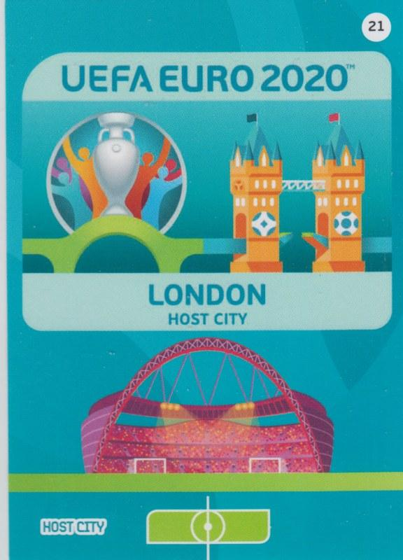 Adrenalyn Euro 2020 - 021 - London (England) - Host City