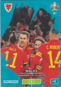 Adrenalyn Euro 2020 - 024 - Wales Qualified - Magic Moment