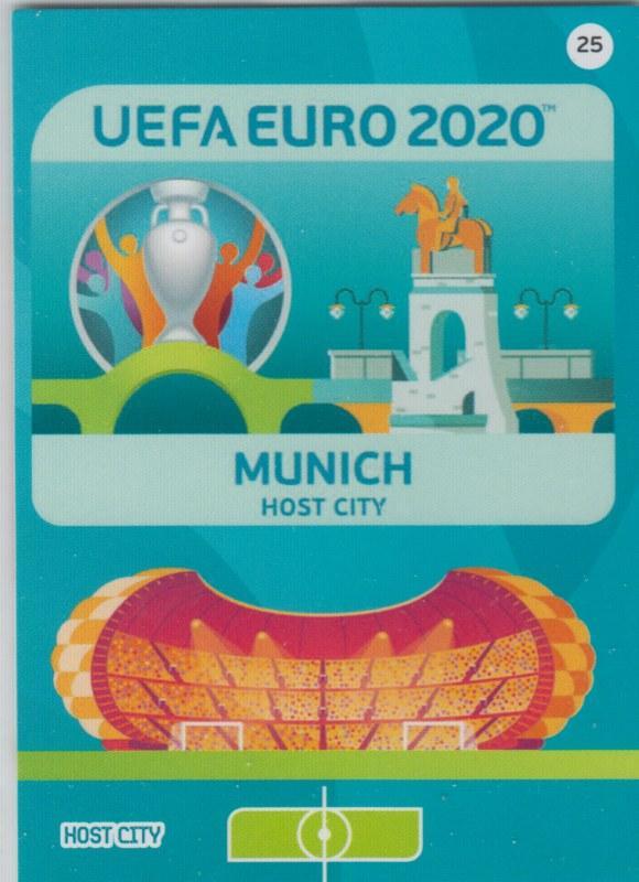 Adrenalyn Euro 2020 - 025 - Munich (Germany) - Host City