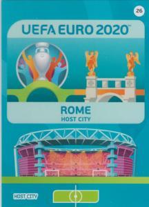 Adrenalyn Euro 2020 - 026 - Rome (Italy) - Host City