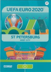 Adrenalyn Euro 2020 - 027 - Saint Petersburg (Russia) - Host City