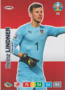Adrenalyn Euro 2020 - 030 - Heinz Lindner (Austria) - Team Mate