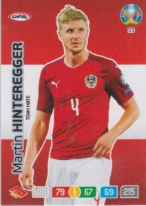 Adrenalyn Euro 2020 - 033 - Martin Hinteregger (Austria) - Team Mate