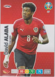 Adrenalyn Euro 2020 - 037 - David Alaba (Austria) - Team Mate