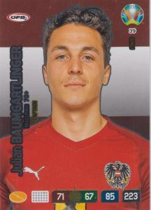 Adrenalyn Euro 2020 - 039 - Julian Baumgartlinger (Austria) - Captain