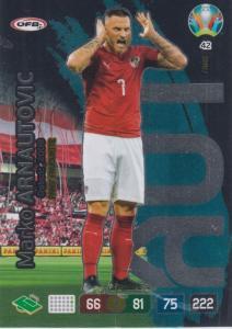Adrenalyn Euro 2020 - 042 - Marko Arnautovic (Austria) - Fans' Favourite