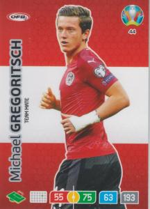 Adrenalyn Euro 2020 - 044 - Michael Gregoritsch (Austria) - Team Mate
