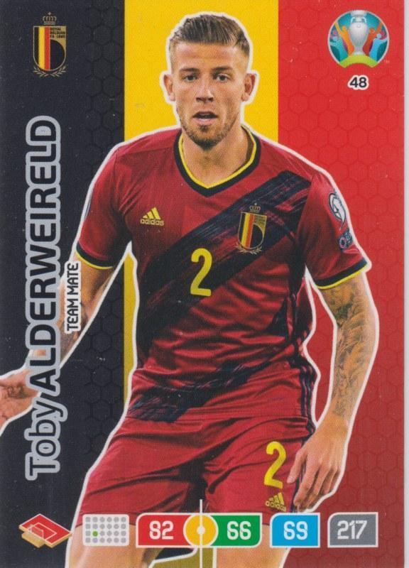 Adrenalyn Euro 2020 - 048 - Toby Alderweireld (Belgium) - Team Mate