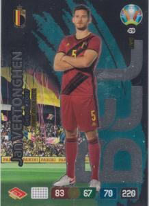 Adrenalyn Euro 2020 - 049 - Jan Vertonghen (Belgium) - Fans' Favourite