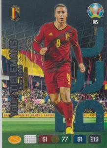 Adrenalyn Euro 2020 - 052 - Youri Tielemans (Belgium) - Wonderkid