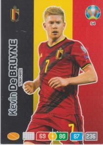 Adrenalyn Euro 2020 - 054 - Kevin de Bruyne (Belgium) - Team Mate