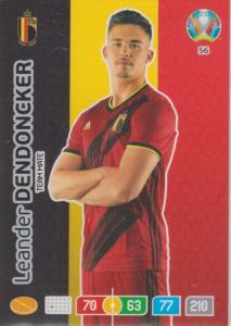 Adrenalyn Euro 2020 - 056 - Leander Dendoncker (Belgium) - Team Mate