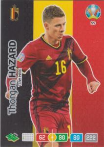 Adrenalyn Euro 2020 - 059 - Thorgan Hazard (Belgium) - Team Mate