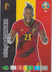 Adrenalyn Euro 2020 - 061 - Michy Batshuayi (Belgium) - Team Mate