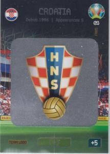 Adrenalyn Euro 2020 - 064 - Team Logo (Croatia) - Team Logo