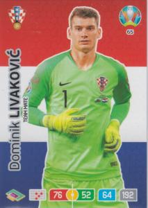 Adrenalyn Euro 2020 - 065 - Dominik Livaković (Croatia) - Team Mate