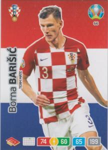 Adrenalyn Euro 2020 - 066 - Borna Barišić / Borna Barisic (Croatia) - Team Mate