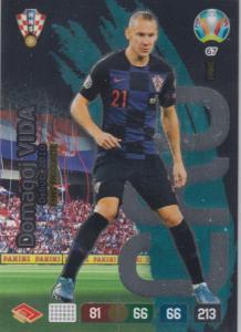 Adrenalyn Euro 2020 - 067 - Domagoj Vida (Croatia) - Fans' Favourite