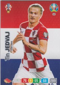 Adrenalyn Euro 2020 - 068 - Tin Jedvaj (Croatia) - Team Mate
