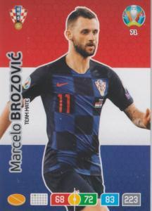 Adrenalyn Euro 2020 - 071 - Marcelo Brozovic (Croatia) - Team Mate