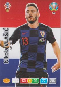 Adrenalyn Euro 2020 - 072 - Nikola Vlaišić / Nikola Vlaisic (Croatia) - Team Mate