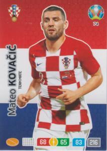 Adrenalyn Euro 2020 - 074 - Mateo Kovačić / Mateo Kovacic (Croatia) - Team Mate