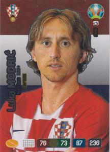 Adrenalyn Euro 2020 - 075 - Luka Modrić / Luka Modric (Croatia) - Captain