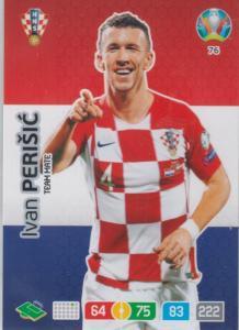Adrenalyn Euro 2020 - 076 - Ivan Perišić / Ivan Perisic (Croatia) - Team Mate