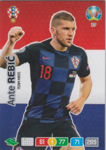 Adrenalyn Euro 2020 - 077 - Ante Rebic (Croatia) - Team Mate