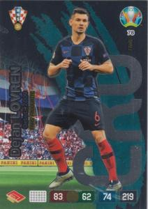 Adrenalyn Euro 2020 - 078 - Dejan Lovren (Croatia) - Fans' Favourite