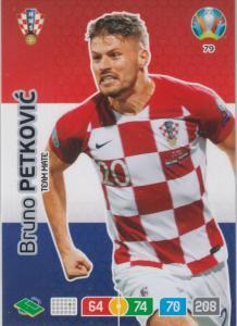 Adrenalyn Euro 2020 - 079 - Bruno Petkovic (Croatia) - Team Mate