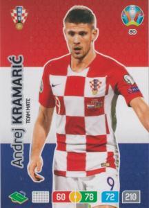 Adrenalyn Euro 2020 - 080 - Andrej Kramaric (Croatia) - Team Mate