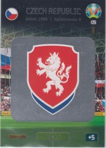 Adrenalyn Euro 2020 - 082 - Team Logo (Czech Republic) - Team Logo