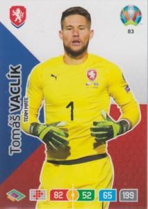 Adrenalyn Euro 2020 - 083 - Tomáš Vaclík / Tomas Vaclik (Czech Republic) - Team Mate