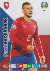 Adrenalyn Euro 2020 - 086 - Pavel Kadeřábek / Pavel Kaderabek (Czech Republic) - Team Mate