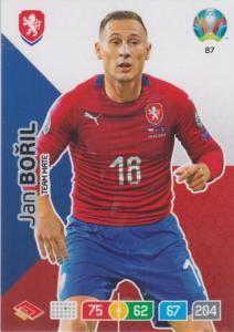 Adrenalyn Euro 2020 - 087 - Jan Bořil / Jan Boril (Czech Republic) - Team Mate