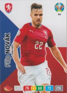 Adrenalyn Euro 2020 - 089 - Filip Novák / Filip Novak (Czech Republic) - Team Mate