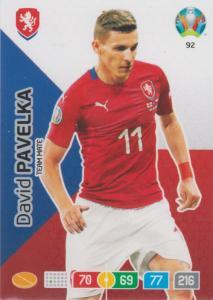 Adrenalyn Euro 2020 - 092 - David Pavelka (Czech Republic) - Team Mate